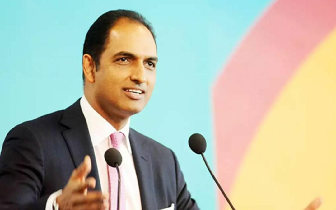 G V Sanjay Reddy Advocates A Robust Cybersecurity Infrastructure To Supplement The Digital Revolution